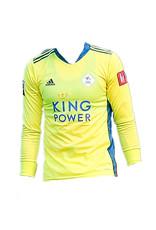 adidas Keepersshirt geel 2020-2021 met bedrukking