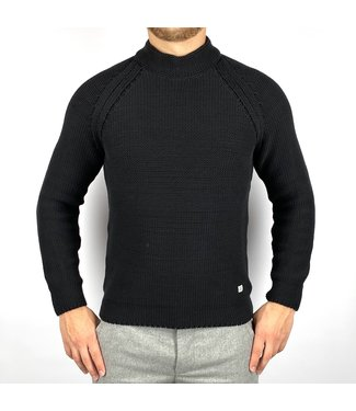 C.P. Company Turtle Neck Black