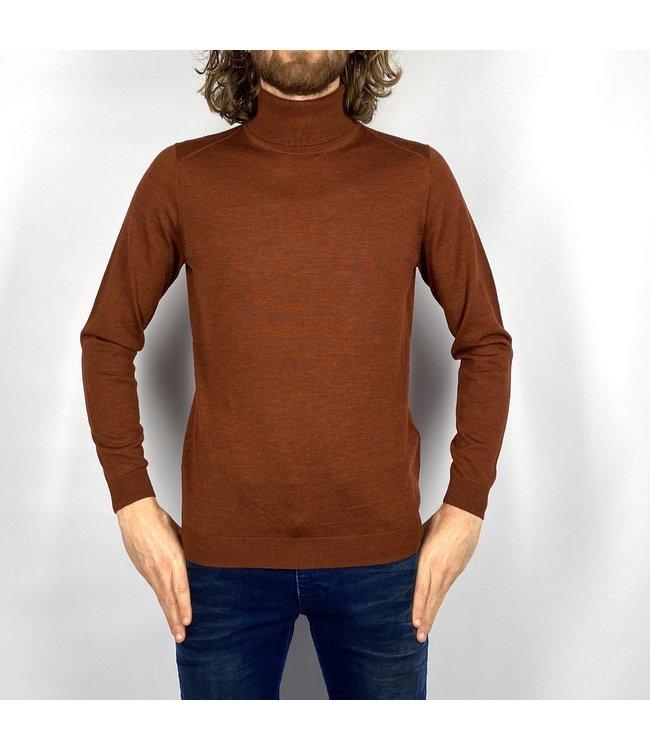 I'm Fine Knitwear Turijn Col Rust