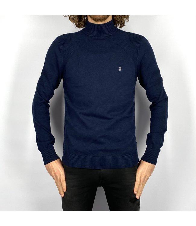 Koll3kt Mock Turtleneck Sweater Late Night