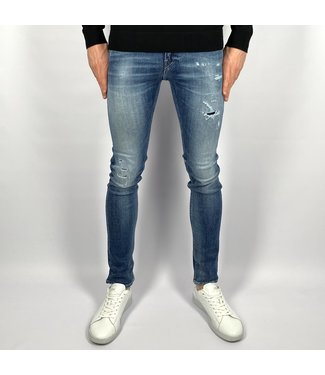 Replay Skinny Fit Aged 10 Years Sustainable Cycle Jondrill Jeans Lengte 34