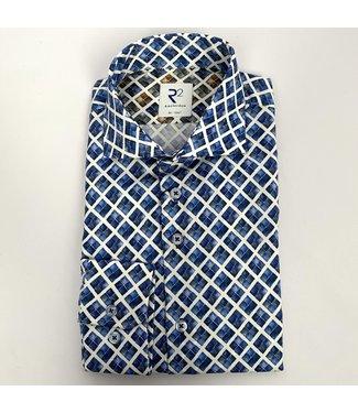 R2 Widespread Dobby Shirt Blue 14