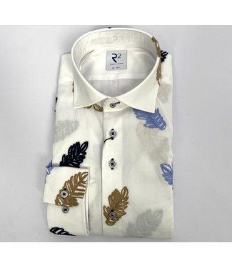 R2 Widespread Fine Twill Shirt Navy