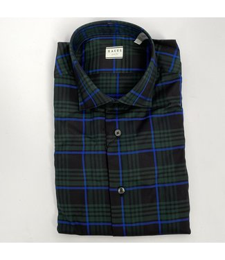 Xacus Slim Fit Check Shirt Bl
