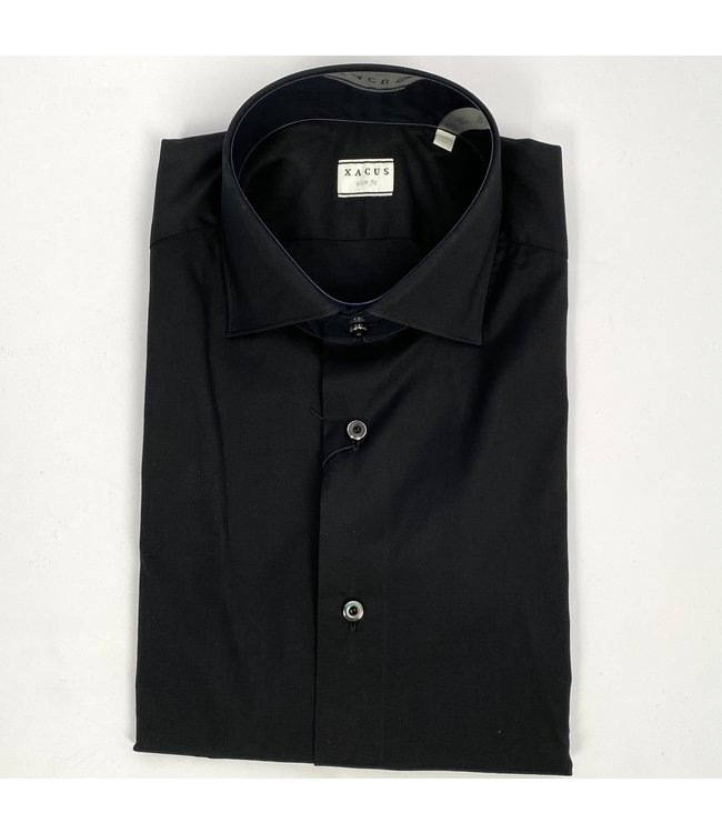 Xacus Slim Fit Shirt Bla
