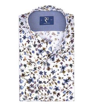 R2 Widespread Shirt Flowers