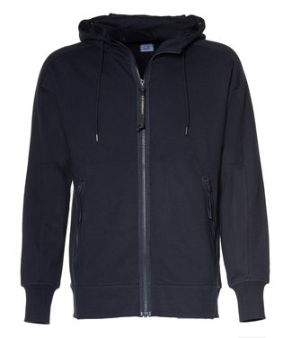 C.P. Company Goggle Hoodie Total Eclipse