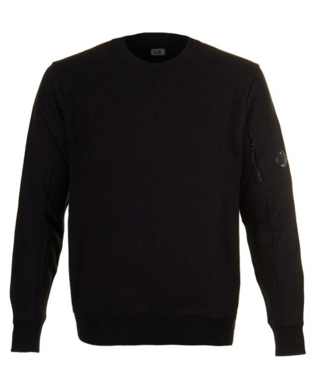 C.P. Company Diagonal Raised Fleece Black