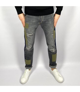 Barbone 5 Pocket Man Patch Bla