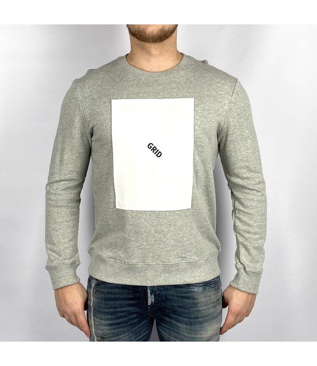 SCRBL SCRBL Grid Sweater
