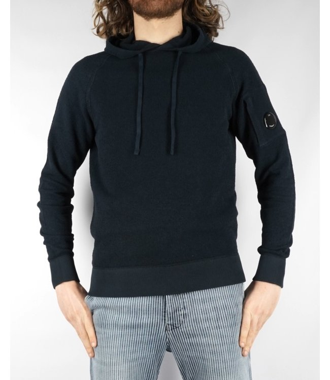 C.P. Company CP Hooded Knit 136A Total Eclipse