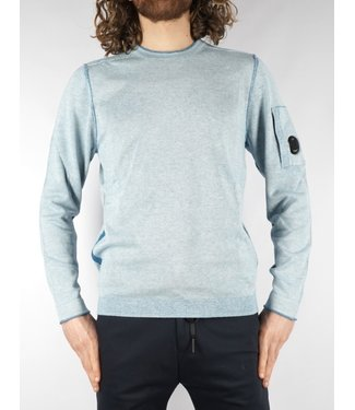 C.P. Company CP Crew Neck 143A Ashley Blue