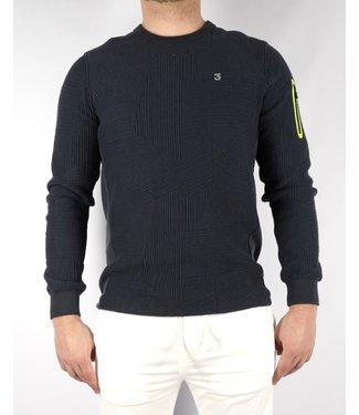 Koll3kt Koll3kt Abstract Sweater LN
