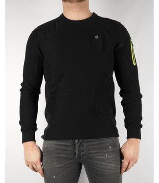 Koll3kt Koll3kt Abstract Sweater B