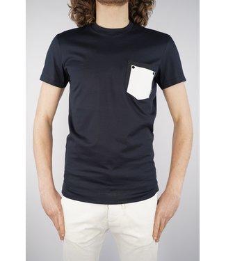 Premiummood Denim Superior PMDS Double Task T-Shirt Blu