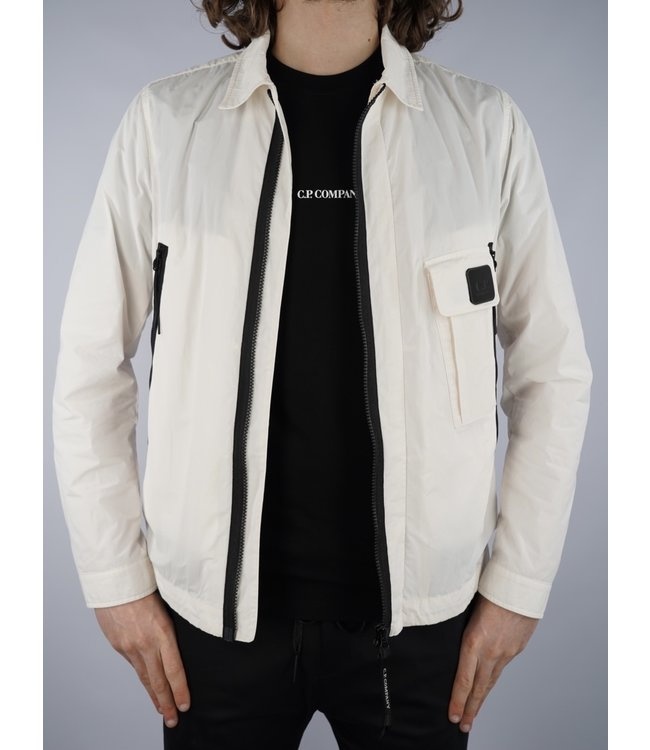 C.P. Company CP Med Jacket 008A Gauze White