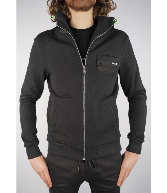 Premiummood Denim Superior PMDS Ontake Sweater Nero
