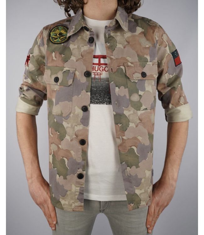 Gabba Gabba Top Flow Camo Jacket