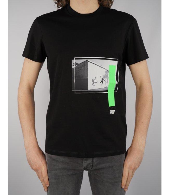 Premiummood Denim Superior PMDS Bid T-Shirt Nero