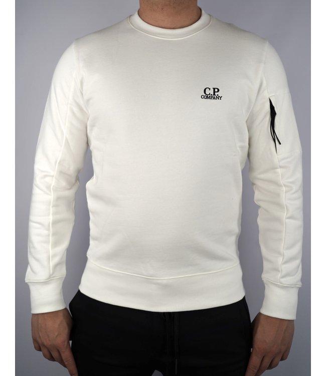C.P. Company CP Crew Neck 045B Gauze White
