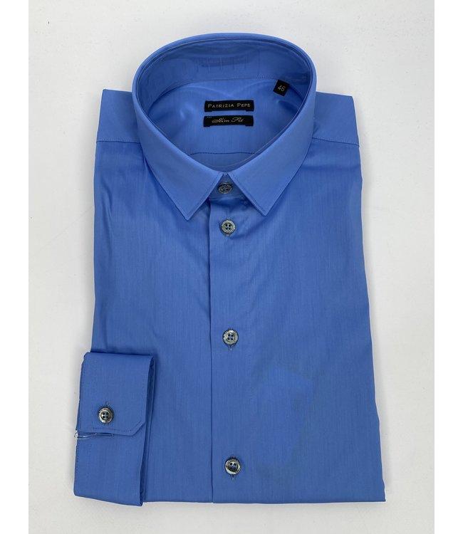 Patrizia Pepe PP 5C0055 Shirt Oxford Sky