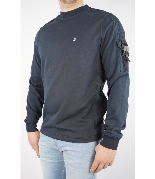 Koll3kt Koll3kt Buckle Pkt Sweater LN