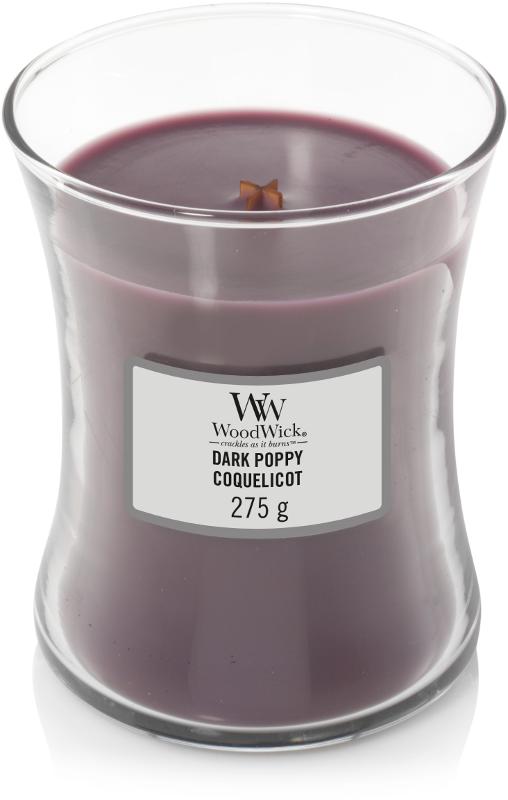 WOODWICK WOODWICK - Candle Dark poppy