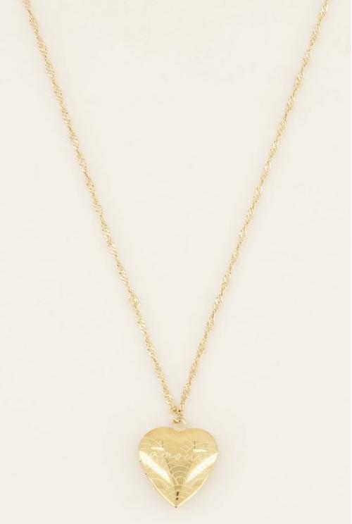 MY JEWELLERY MY JEWELLERY - Ketting Amour goud 60+5cm
