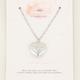 MY JEWELLERY MY JEWELLERY - Ketting Amour zilver 60+5cm