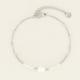 MY JEWELLERY MY JEWELLERY - Armbandje kralen & parel zilver