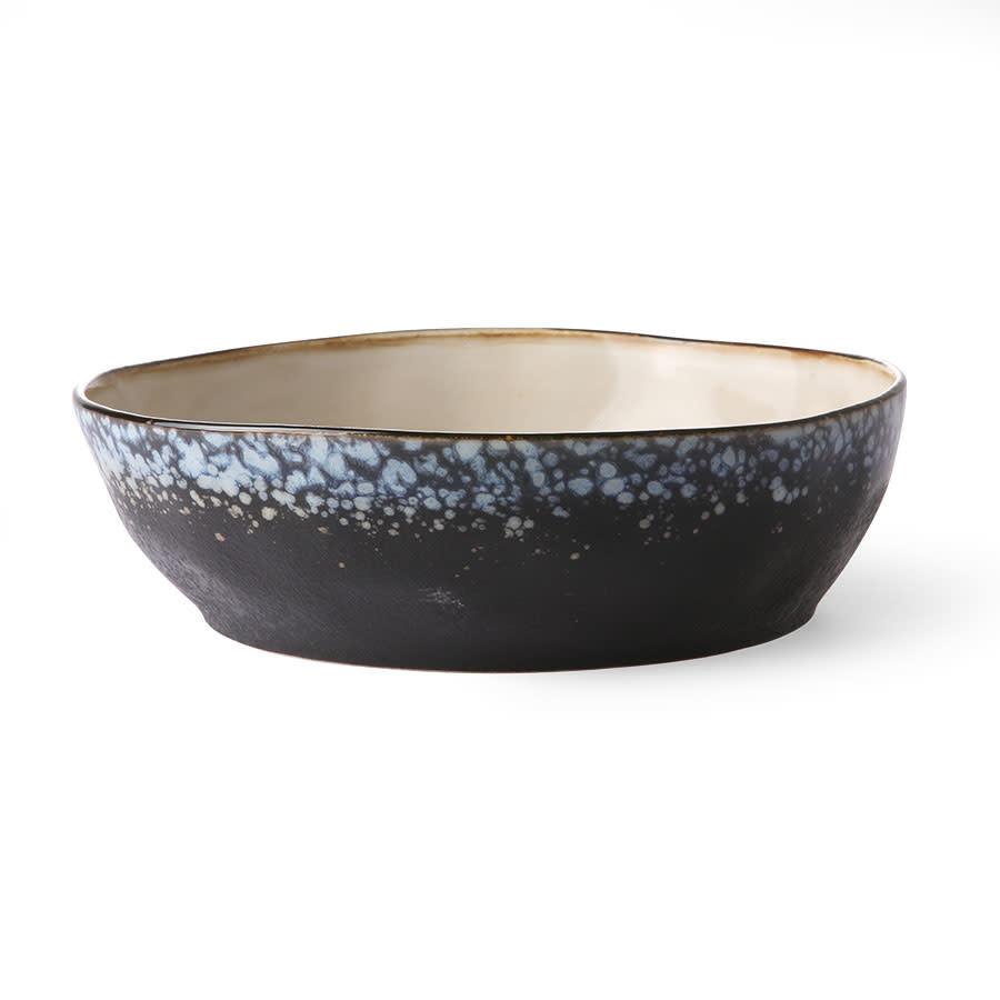HK LIVING HK LIVING - Ceramic 70's pasta bowl Galaxy ACE6766