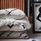 HK LIVING HK LIVING - Hand knotted cushion black/white 50 x 50