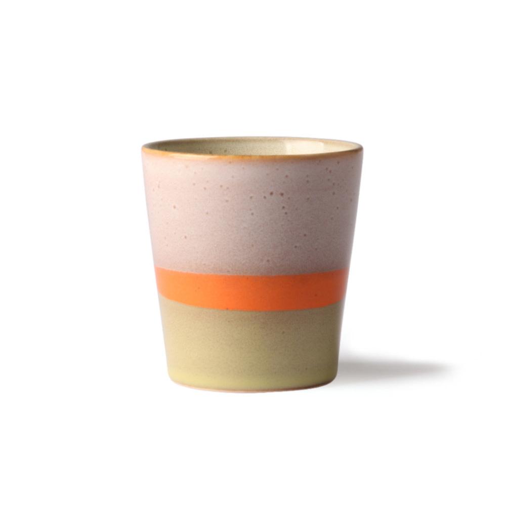 HK LIVING HK LIVING - Ceramic 70's mok ACE6903