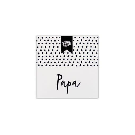 100% LEUK 100% LEUK - Cadeau Zeep Papa