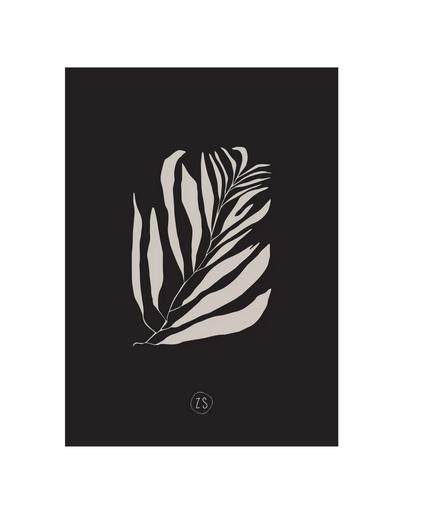ZUSSS ZUSSS - Kaart takje zwart