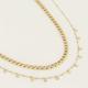 MY JEWELLERY MY JEWELLERY - Kettingen set muntjes zilver of goud