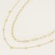 MY JEWELLERY MY JEWELLERY  - Kettingen set schakel zilver of goud