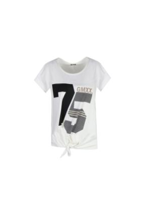 G-MAXX G-MAXX - T-shirt Amana Wit/Zwart