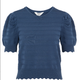 OBJECT OBJECT - Top sava Knit Pullover Ensign Blue