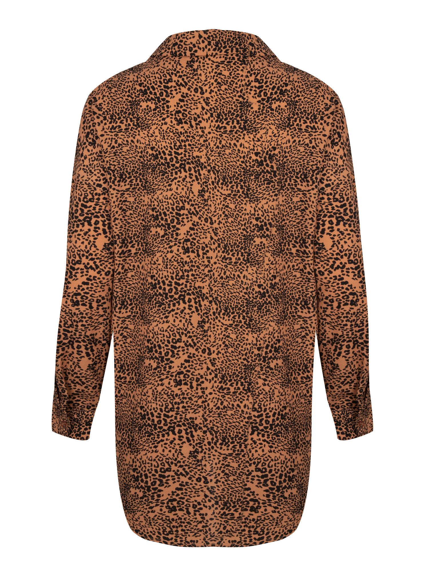 YDENCE YDENCE - Blouse Amber met leopard print