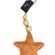 KOLONY KOLONY - Velvet ster oranje 13x14cm