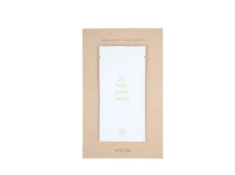 ZUSSS ZUSSS - Gezichtsmasker goud waard 10ml wit