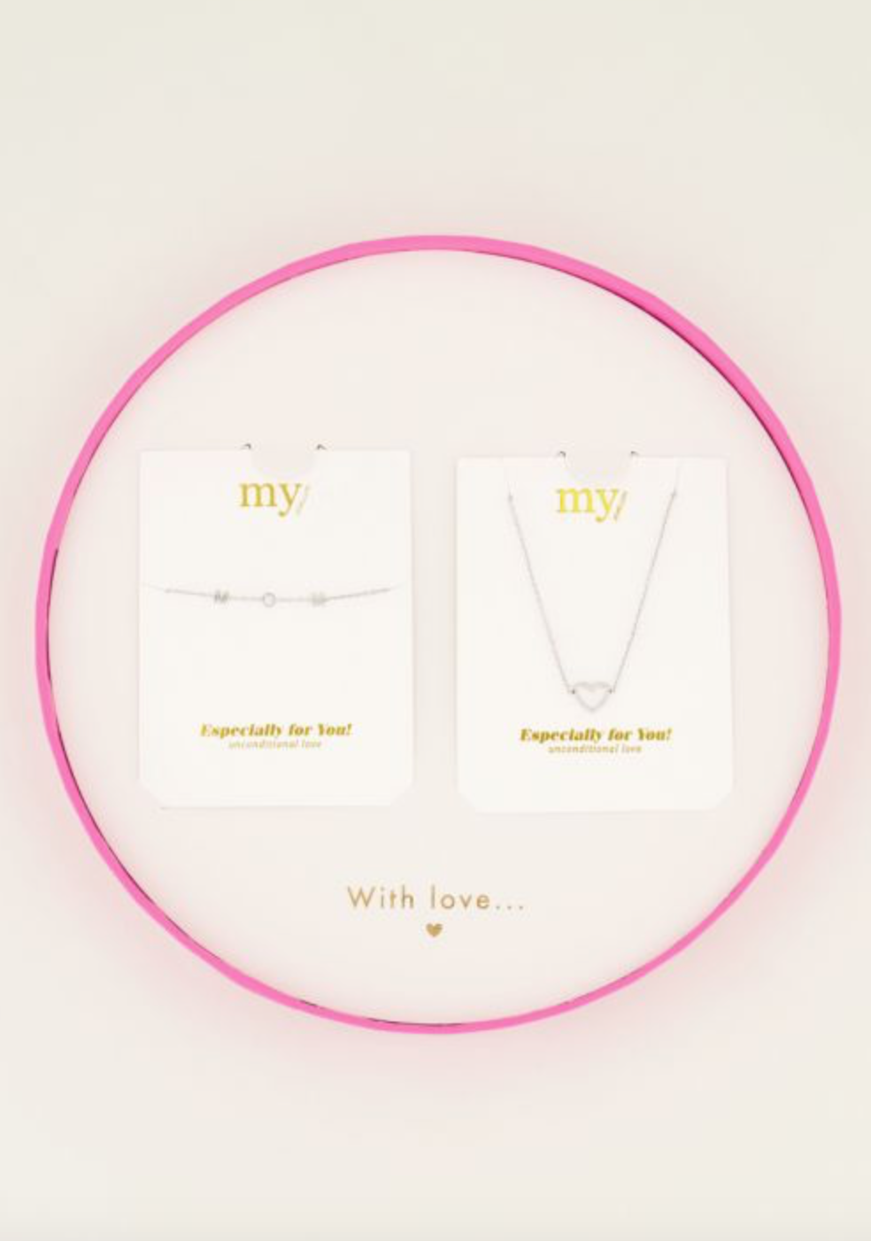 MY JEWELLERY MY JEWELLERY - Giftbox MOM armband & hartjesketting