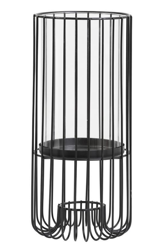 LIGHT & LIVING WINDLICHT -  Ø14,5x32 cm BRISLA mat zwart