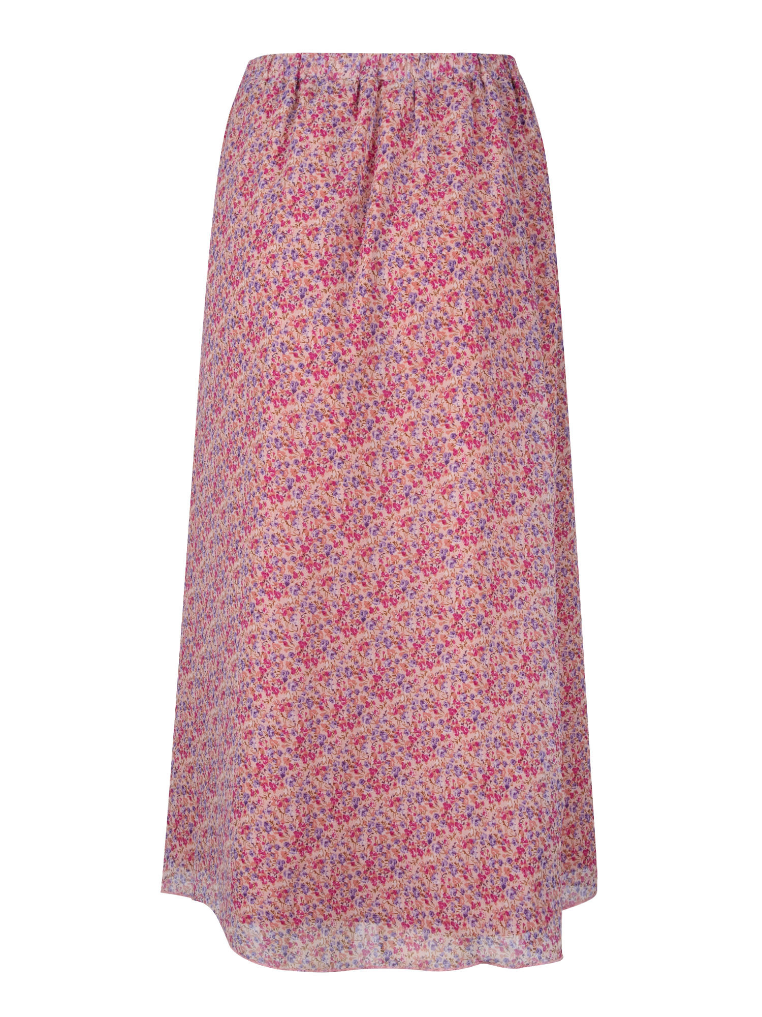 YDENCE YDENCE - Rok heather lila bloemenprint