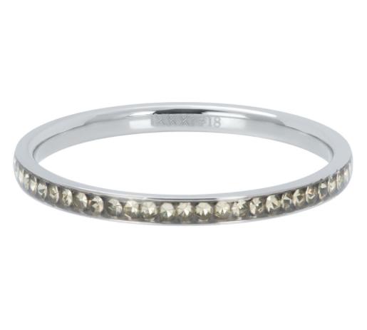 iXXXi Jewelry IXXXI - Zirconia Blond Flare Zilver