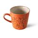 HK LIVING HK LIVING - Ceramic 70's Americano mok Magma ACE6995