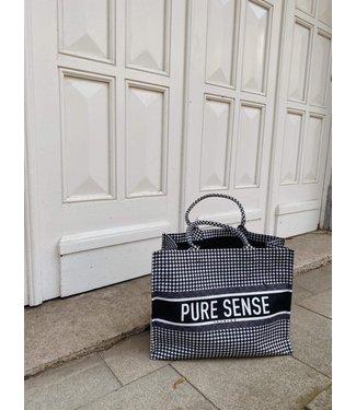 Pure Sense PURE SENSE PIED DE POULE  BAG