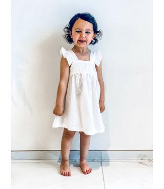 Pure Sense ALLIA'S BEST WHITE TETRA DRESS