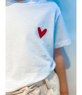 Pure Sense ALLIA'S RED HEART T-SHIRT